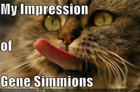 My Impression of Gene Simmions
