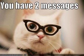 You have 2 messages