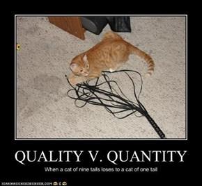 QUALITY V. QUANTITY