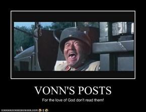 VONN'S POSTS