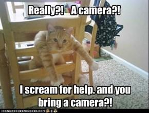Really?!    A camera?!