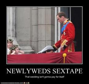 NEWLYWEDS SEXTAPE