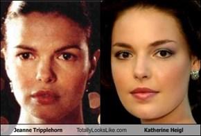 Jeanne Tripplehorn Totally Looks Like Katherine Heigl