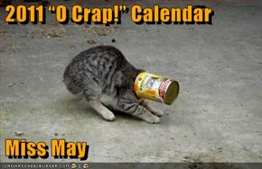 "2011 ""O Crap!"" Calendar   Miss May"