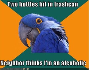 Paranoid Parrot: Neighborhood Watching