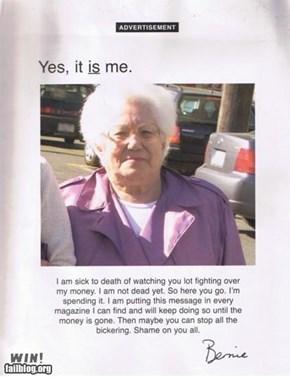 Grandma Ad WIN