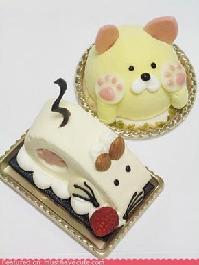 Epicute: Cat and Mouse Cakes