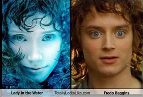 Lady in the Water Totally Looks Like Frodo Baggins
