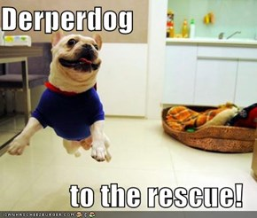 Derperdog  to the rescue!