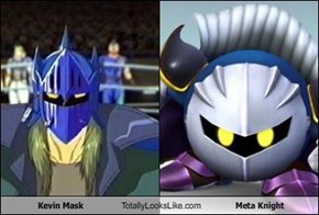 Kevin Mask Totally Looks Like Meta Knight