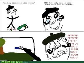 Damn Crayons...