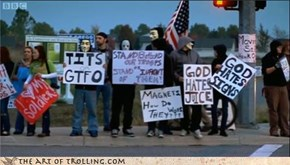 IRL Trolls: Problem, Westboro Baptist Church?