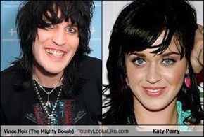 Vince Noir (The Mighty Boosh) Totally Looks Like Katy Perry