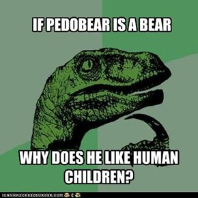 Pedobear: Human Children
