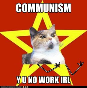 Lenin Cat: A cat can dream, can't he?!
