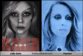 Lady GaGa Totally Looks Like Fayrouz