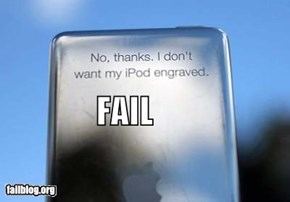 iPod FAIL