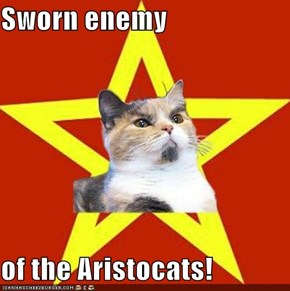 Lenin Cat: Everybody Wants To Be a Prole