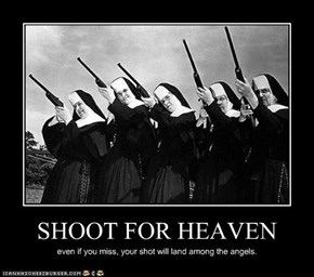 SHOOT FOR HEAVEN