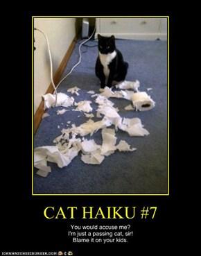 CAT HAIKU #7