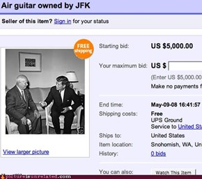 The Dead Kennedy's guitar?