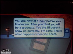 Sims 2 Cheating Call-Out Win