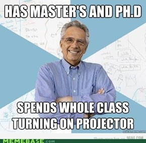 Engineering Professor: Selective Skillset