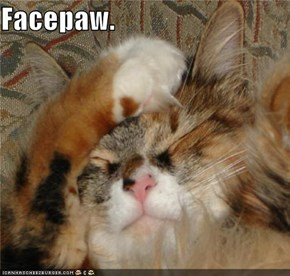 Facepaw.