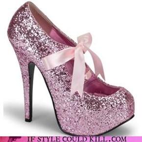 glitter shoe!