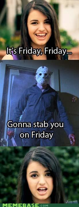It's Friday...  The 13th