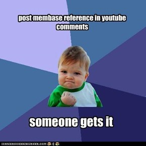post membase reference in youtube comments