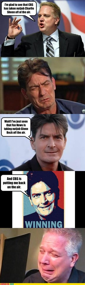Charlie Sheen Always Winning