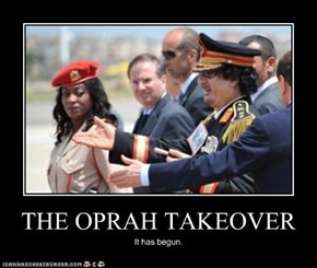 THE OPRAH TAKEOVER