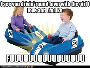 Forever Alone: Kids in Bumper Cars