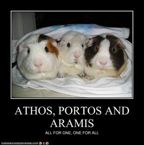 ATHOS, PORTOS AND ARAMIS