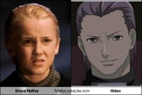 Draco Malfoy Totally Looks Like Hidan