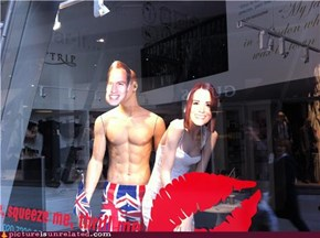 London shop window display