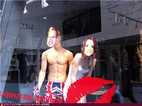 London shop window display