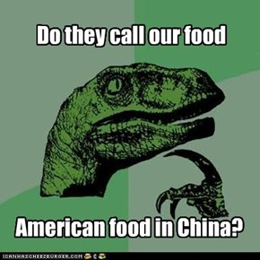 Philosoraptor : American food