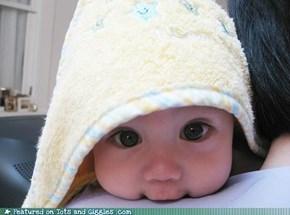 Hooded Towel Cutie
