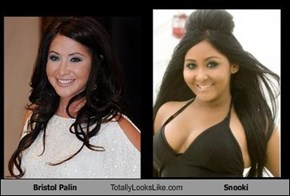 Bristol Palin Totally Looks Like Snooki