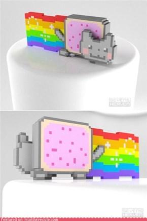 Nyan Cat 3-D!