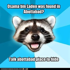 Osama bin Laden was found in Abottabad?