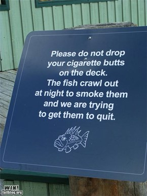 Aquarium Sign WIN