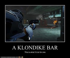 A KLONDIKE BAR