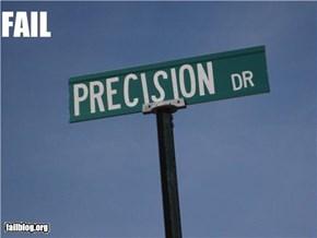 Precision FAIL