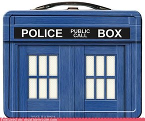 TARDIS Lunchbox