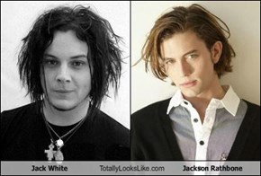Jack White Totally Looks Like Jackson Rathbone
