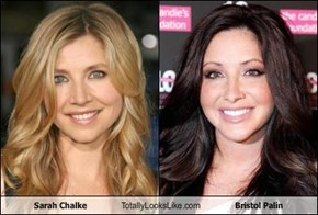 Sarah Chalke Totally Looks Like Bristol Palin