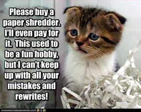 ~ NO KITTEH LABOR LAWS? ~
